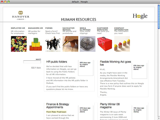 All sorts websites hanover group human resources Website home image