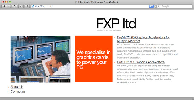 FXP homepage