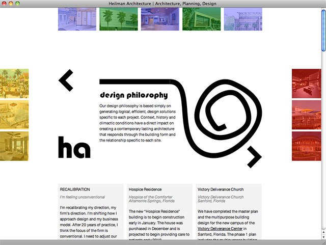 Heilman Architecture homepage again