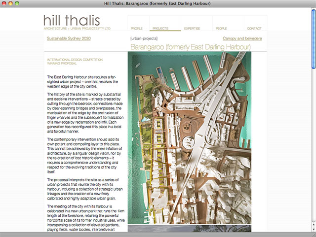 Hill Thalis project page