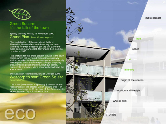 Eco typical page