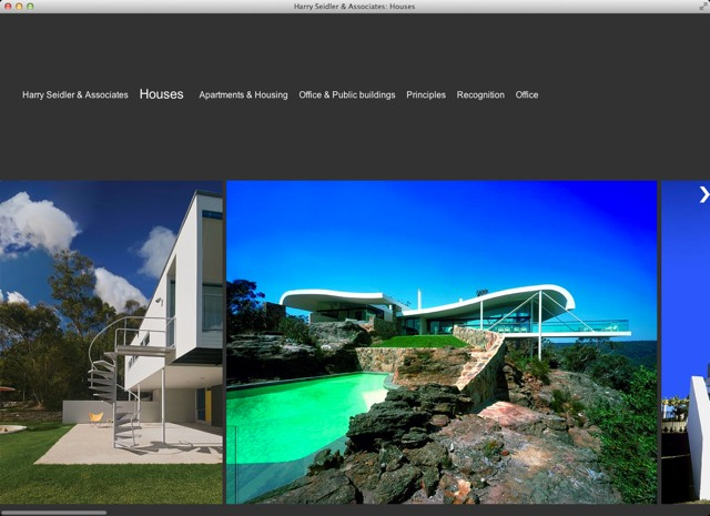 Harry Seidler Associates 2011 Project list