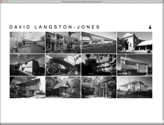 David Langston Jones Architect entry page