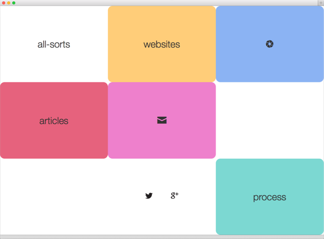 all-sorts website menu 2014