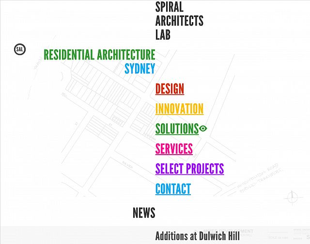 Spiral Architects Lab homepage