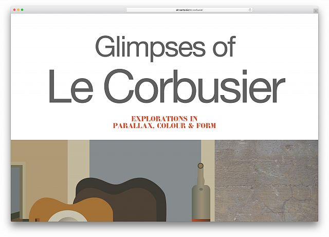 Glimpses of Le Corbusier