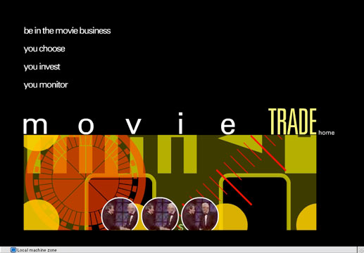 MovieTrade homepage
