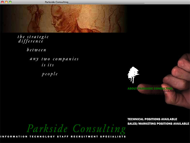 Parkside Consulting homepage