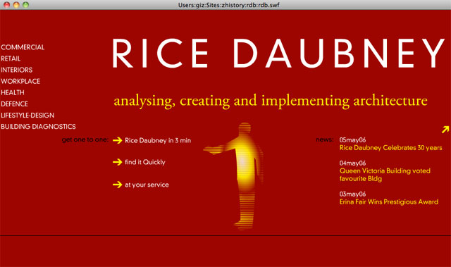 Rice Daubney homepage