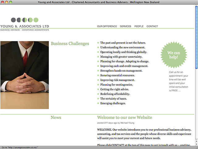 Michael Young Associates homepage