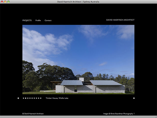 David Haertsch Architect project detail page