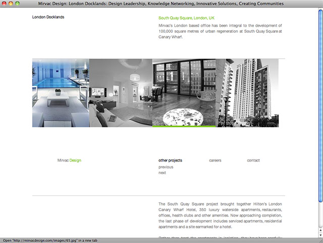 Mirvac Design project page