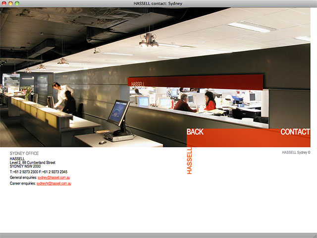HASSELL office page